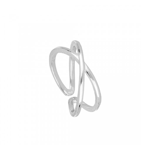 INFINITY OPEN RING SILVER