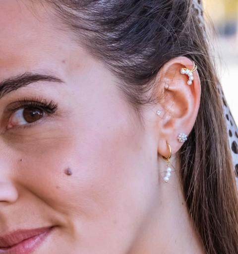 ARIEL EAR CUFF GOLD