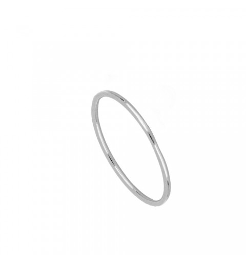 SMOOTH RING SILVER