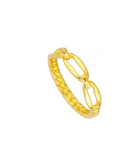 LINKS RING GOLD