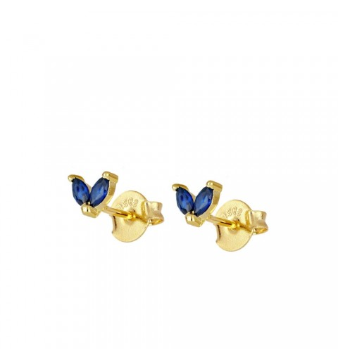 CELIA BLUE MINIS  GOLD