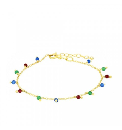 COLORS BRACELET GOLD