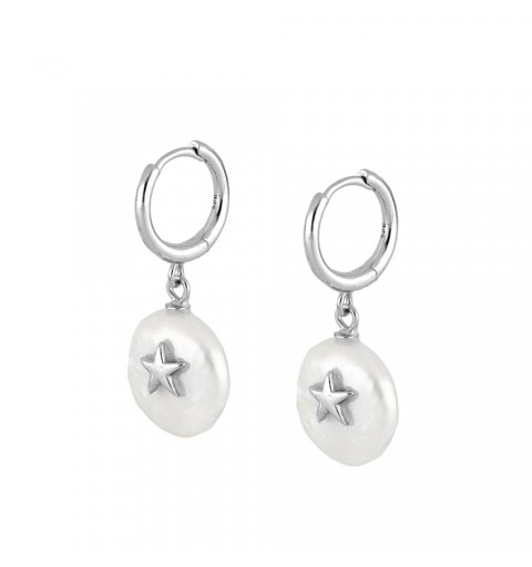 MELORA HOOPS SILVER