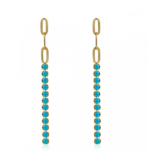 SILVIA TURQUOISE GOLD