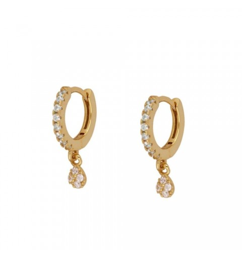 ANGELA HOOPS GOLD