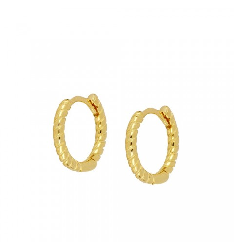 ADALIS HOOPS GOLD