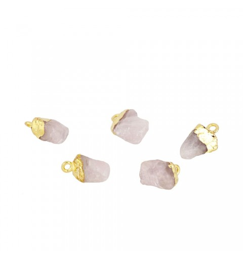 ROMANTIC STONE CHARM GOLD