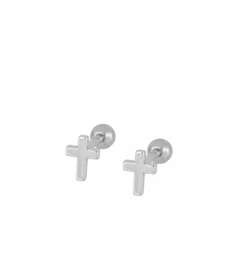 CROSS PIERCING SILVER