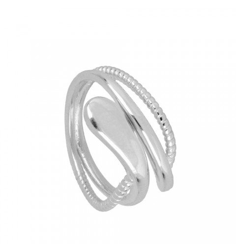 KRAIT RING SILVER