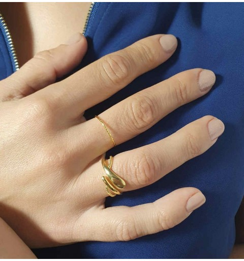 KRAIT RING GOLD