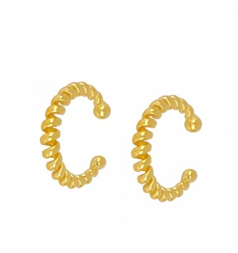 SPRING EAR CUFF GOLD