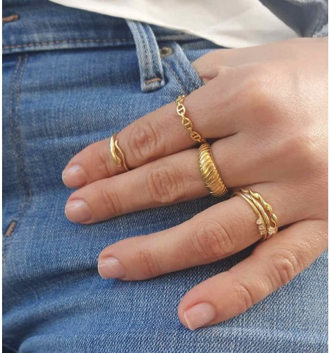 PENNY RING GOLD