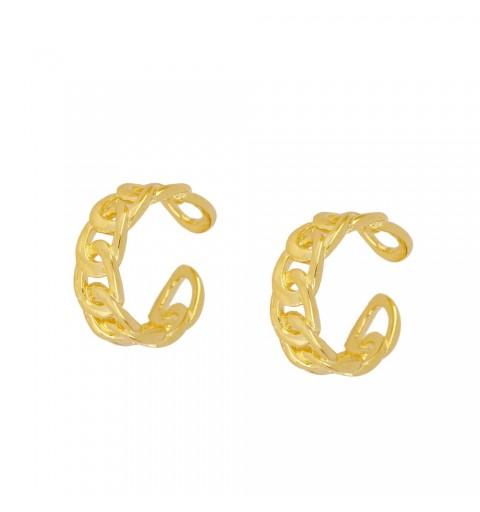 FLUVIA EAR CUFF GOLD